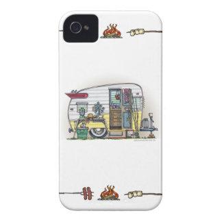 Shasta Camper Trailer RV iPhone 4 Case-Mate Cases