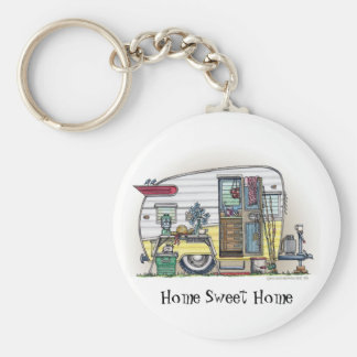 Shasta Camper Trailer RV Key Chains