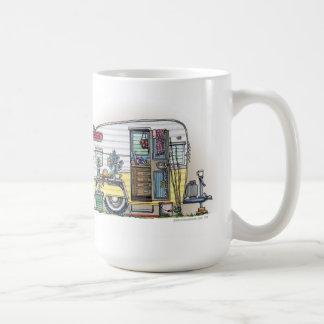 Shasta Camper Trailer RV Coffee Mugs