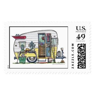 Shasta Camper Trailer RV Stamps