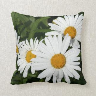 Shasta Daisies Throw Pillow