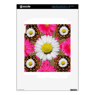 Shasta Daisy & Pink Gerbera Gifts iPad 3 Decals