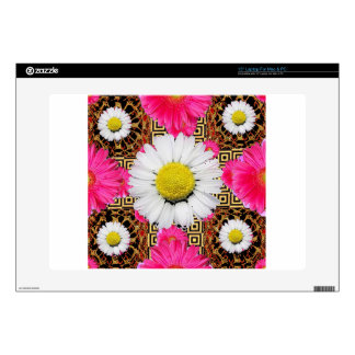 Shasta Daisy & Pink Gerbera Gifts Skin For Laptop