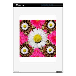 Shasta Daisy & Pink Gerbera Gifts Skin For The iPad