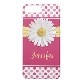 Shasta Daisy Pink Polka Dot iPhone 6 case