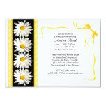 Shasta Daisy Wedding Bridal Shower Invitation