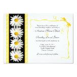 """Shasta Daisy Wedding Invitation 5"""" X 7"""" Invitation Card"""