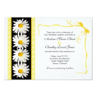 Shasta Daisy Wedding Invitation