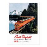 Shasta Daylight Postcard