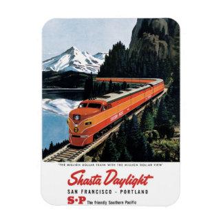 Shasta Daylight Rectangular Photo Magnet