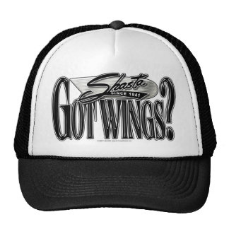 Shasta -- Got Wings? Trucker Hat