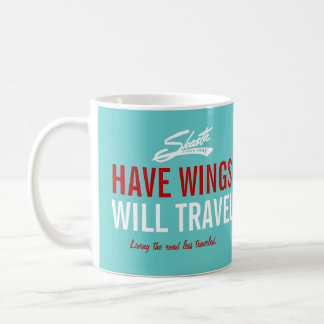 Shasta Have Wings - Will Travel Customizable Coffee Mug