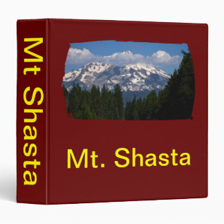 Shasta on the Road Again 3 Ring Binder