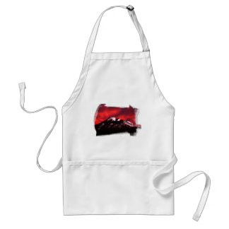 Shasta Red Cloud Adult Apron