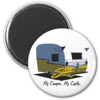 Shasta Vintage Camper - Yellow Magnet