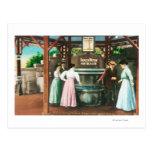 Shasta Water Drinking Fountain Scene Postcards