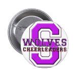 Shasta Wolves Cheerleaders Pin
