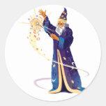 Shathious Round Sticker