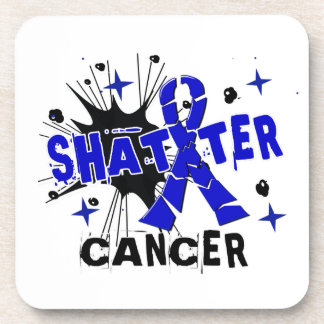 Shatter Anal Cancer Coasters