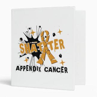 Shatter Appendix Cancer 3 Ring Binders
