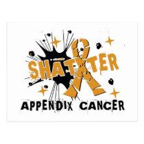 Shatter Appendix Cancer Postcard