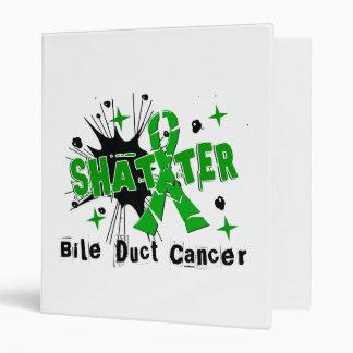Shatter Bile Duct Cancer 3 Ring Binders