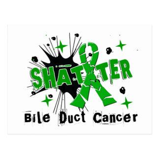 Shatter Bile Duct Cancer Postcard