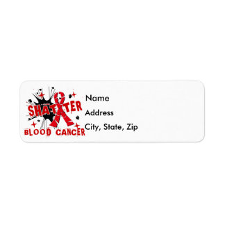Shatter Blood Cancer Label