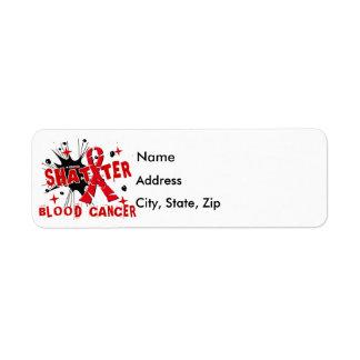 Shatter Blood Cancer Label