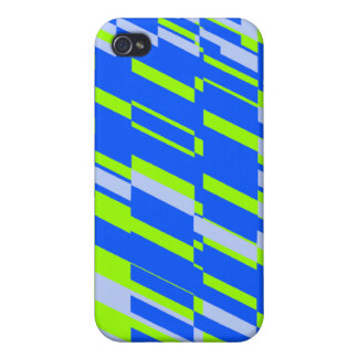 Shatter Blue Green iPhone 4 Case