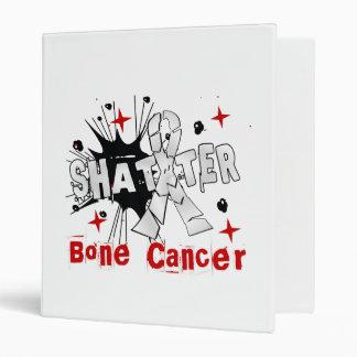 Shatter Bone Cancer Vinyl Binder