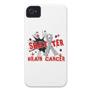 Shatter Brain Cancer iPhone 4 Covers