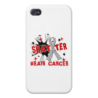 Shatter Brain Cancer iPhone 4 Cover
