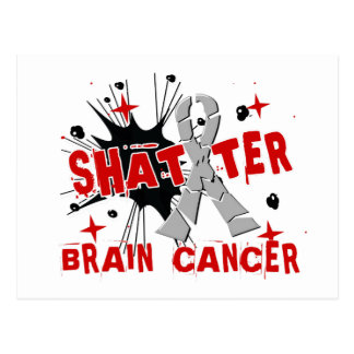 Shatter Brain Cancer Post Cards