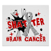 Shatter Brain Cancer Poster