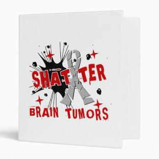 Shatter Brain Tumors 3 Ring Binders