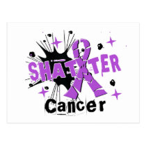 Shatter Cancer Postcard