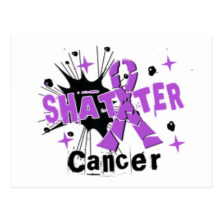 Shatter Cancer Postcard