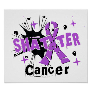 Shatter Cancer Posters