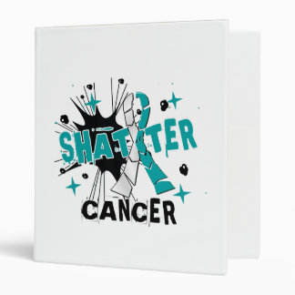 Shatter Cervical Cancer Vinyl Binders