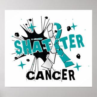 Shatter Cervical Cancer Poster
