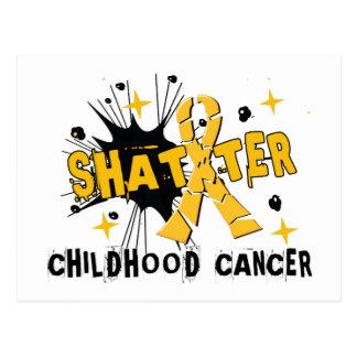 Shatter Childhood Cancer Postcard