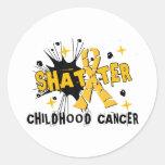 Shatter Childhood Cancer Sticker