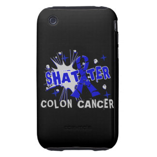 Shatter Colon Cancer Tough iPhone 3 Cover