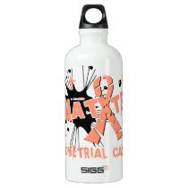 Shatter Endometrial Cancer Aluminum Water Bottle