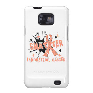 Shatter Endometrial Cancer Samsung Galaxy S2 Cases