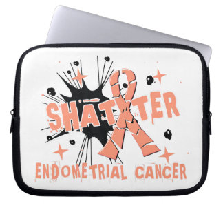Shatter Endometrial Cancer Computer Sleeve