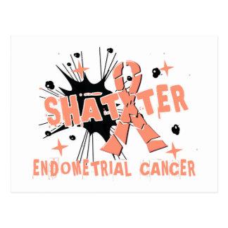 Shatter Endometrial Cancer Postcard
