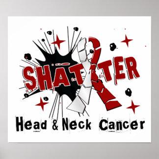 Shatter Head Neck Cancer Poster