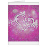 shatter heart greeting card